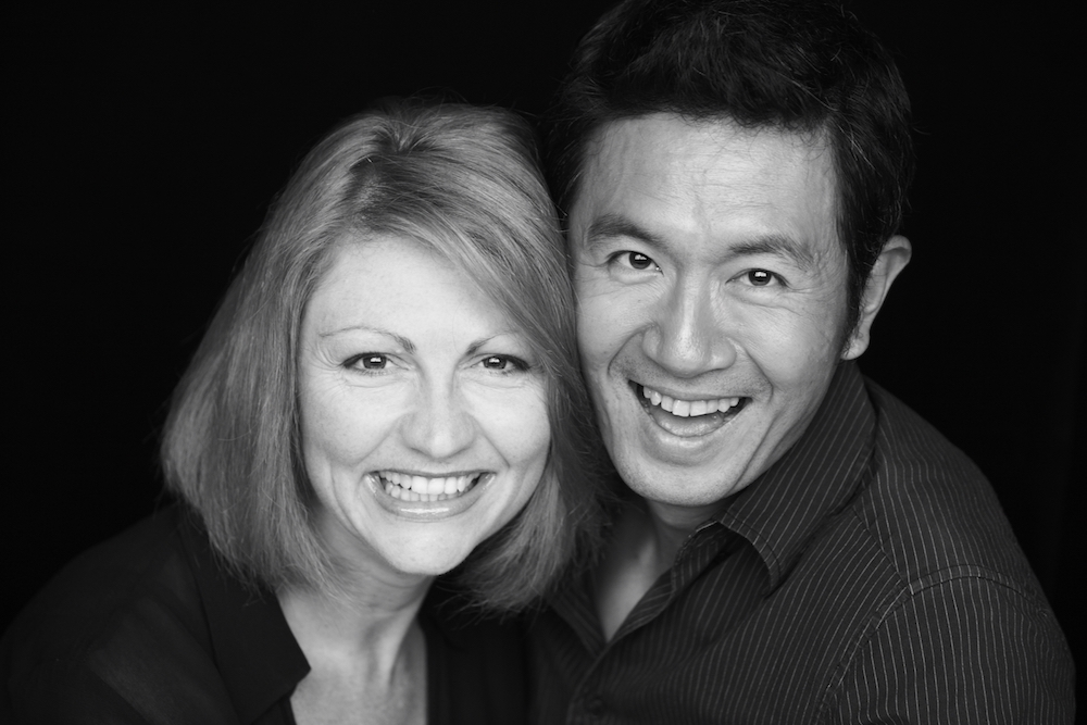 Tracie and Adrian Pang