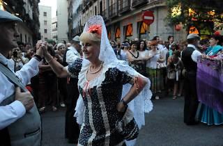 Actuación Castiza fiestas de la Paloma