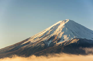Mt Fuji summit - close-up