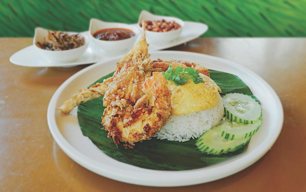 Town Restaurant Lobster Nasi Lemak