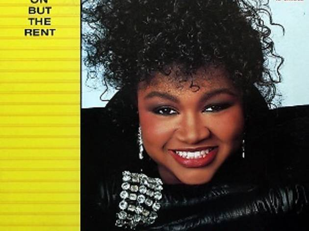 'Ain't Nothin' Goin' On but the Rent' by Gwen Guthrie album cover
