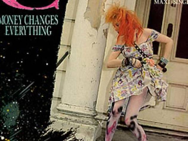 'Money Changes Everything' by Cyndi Lauper album cover