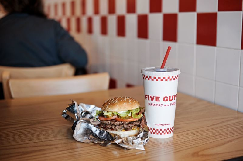 Five Guys hamburger