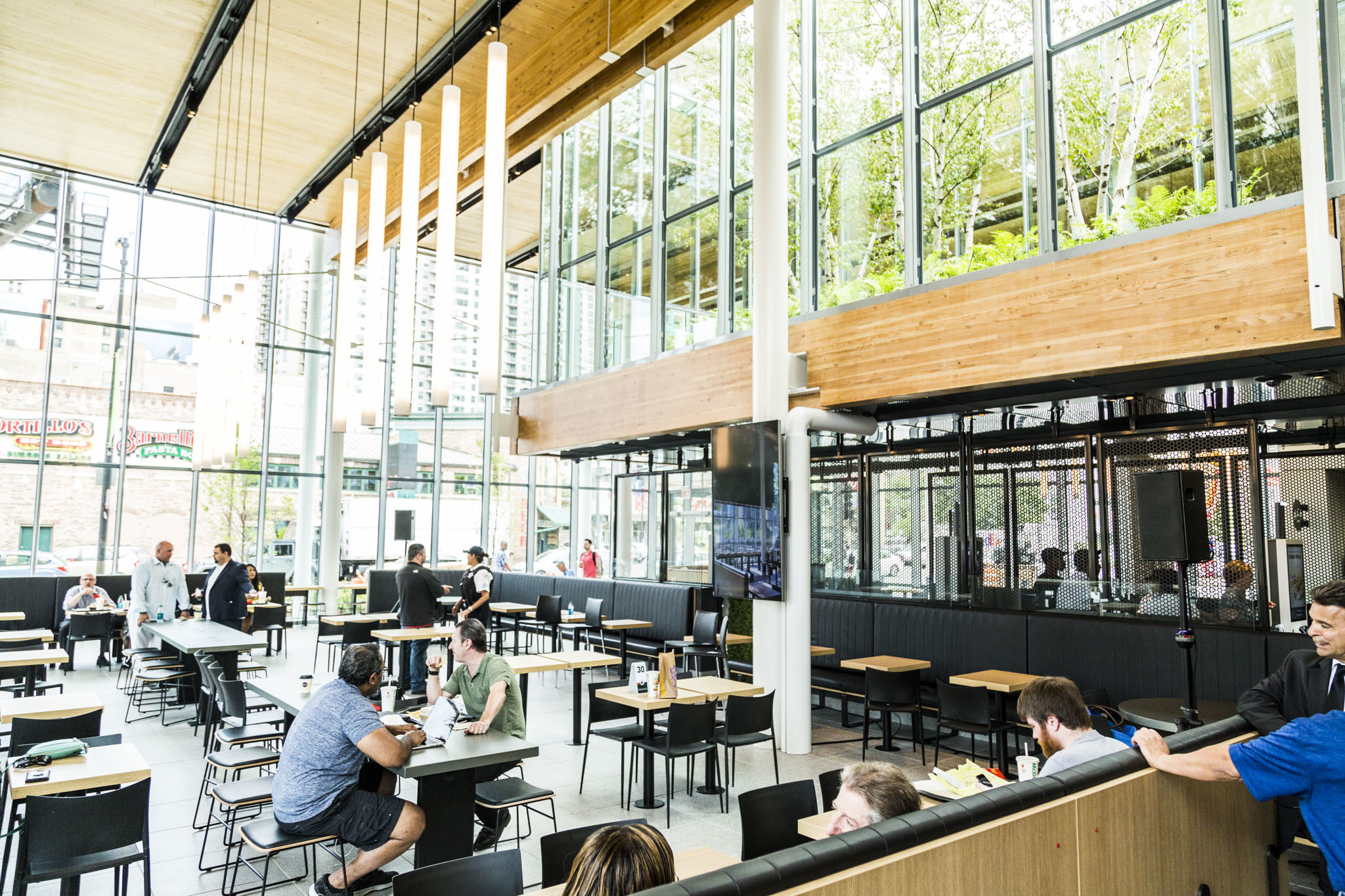 Take a look inside McDonald's new flagship restaurant in River North