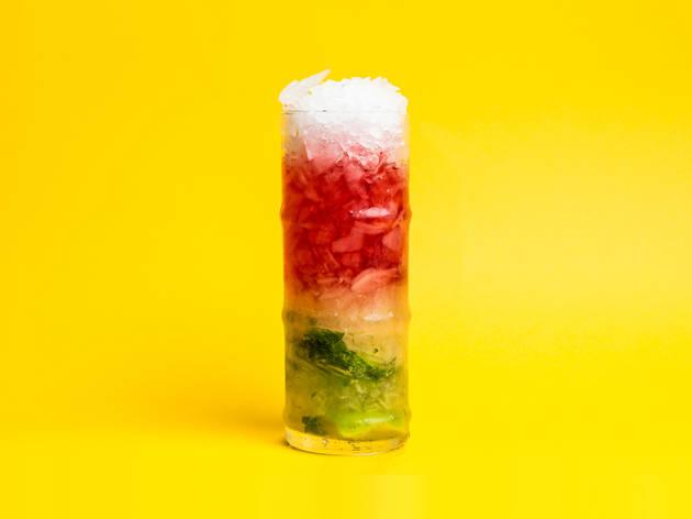 Cinco Lounge - Pink Mojito