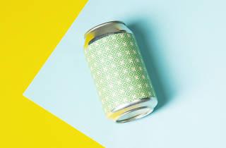 Brick Brewery, gooseberry and elderflower sour, london's best tinnies