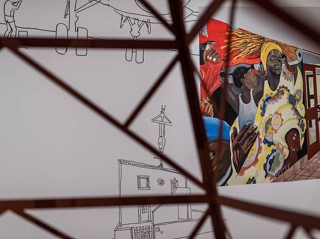 pan african unity mural