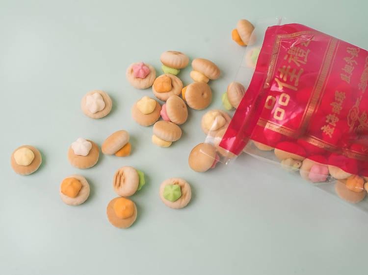 Ice Gems Biscuits 花占餅