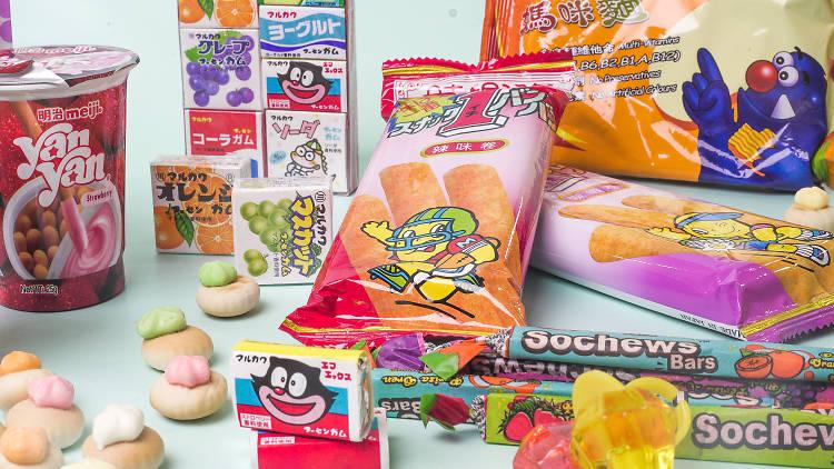 childhood snacks cover image
