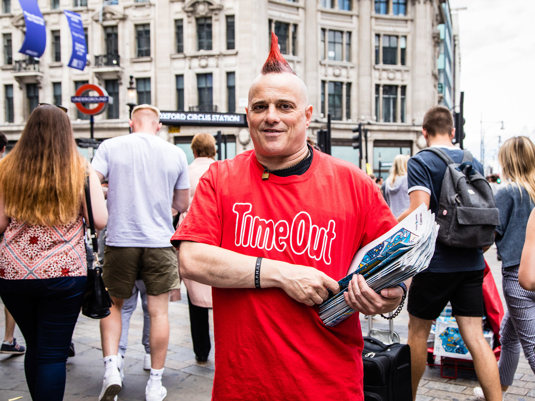 Meet the distributor: John at Oxford Circus