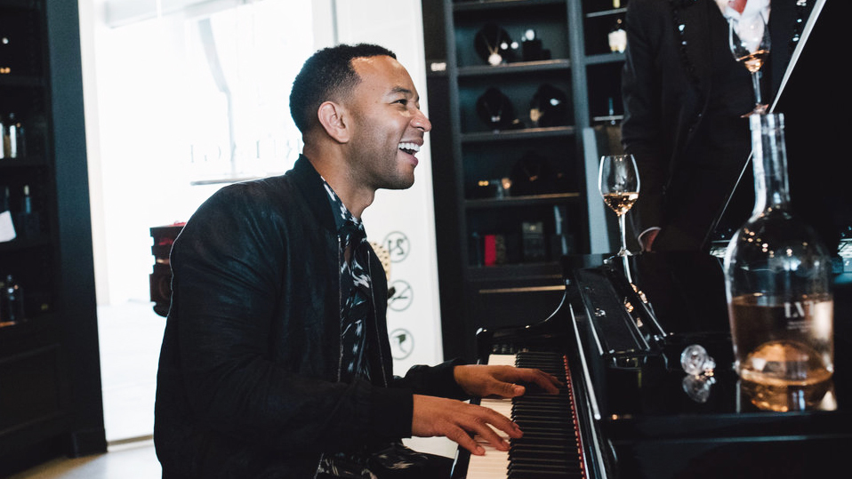 Try John Legend's wines at his new Beverly Hills pop-up