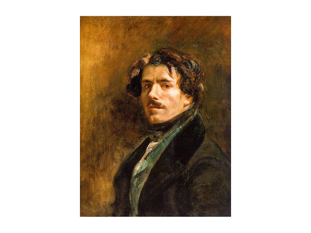 Eugene Delacroix, Self-Portrait with Green Vest, ca. 1837