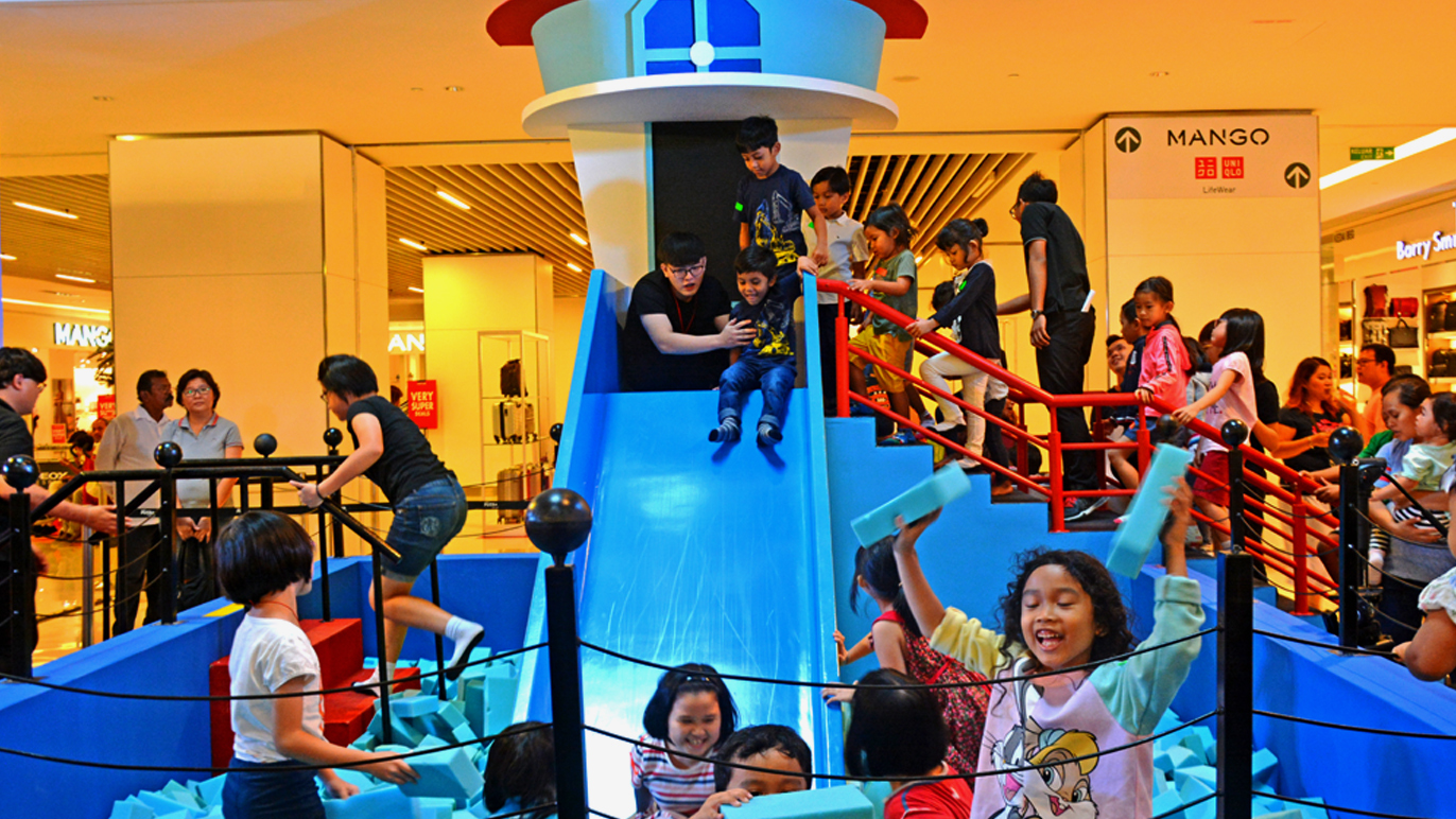 Fun with Nickelodeon at Sunway Putra Mall