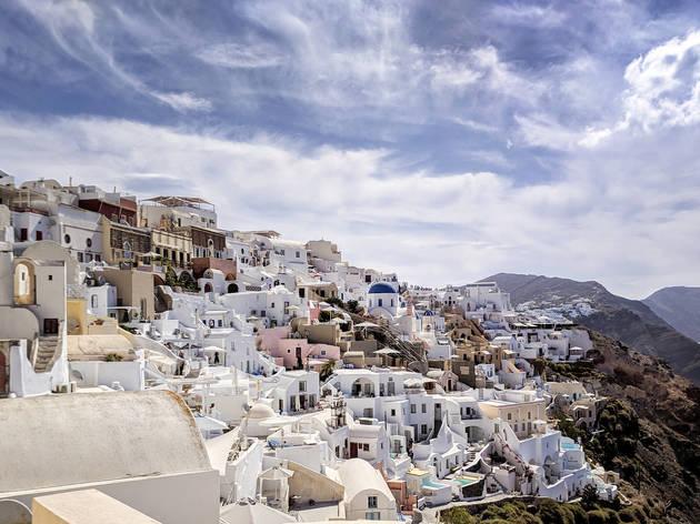 Seis coisas a não perder em Santorini