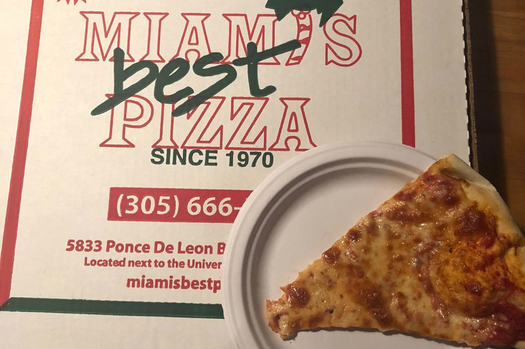 Miami's Best Pizza