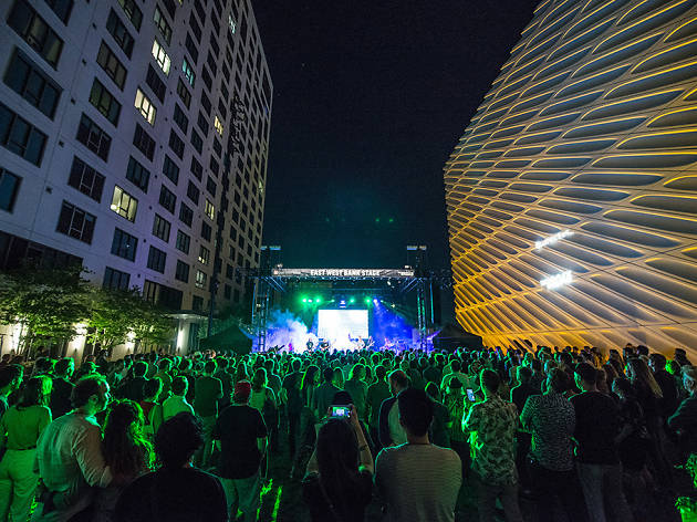 The Broad is hosting jazz concerts all throughout the museum this summer