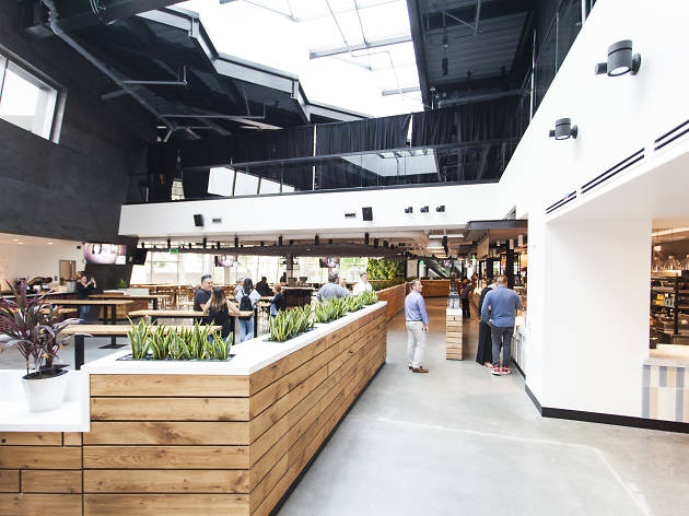 The Fields LA food hall Banc of California Stadium LAFC