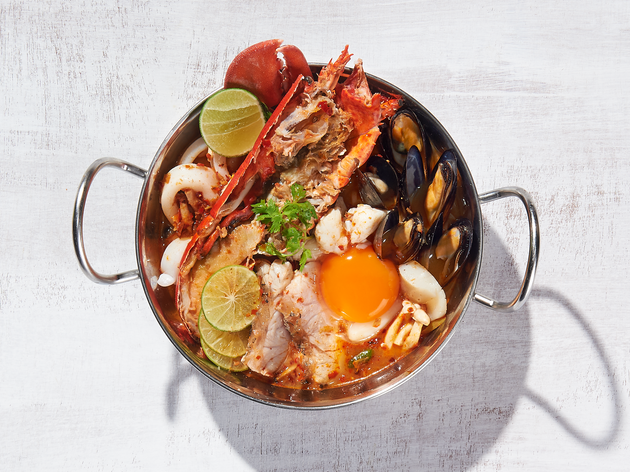 Greyhound Cafe - lobster tom yum