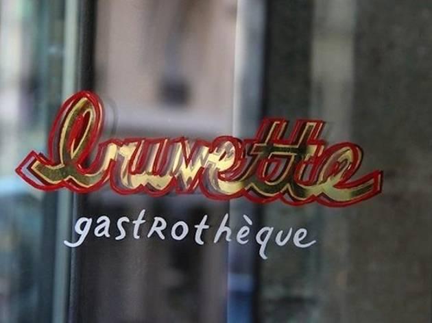 Buvette, gastrothèque