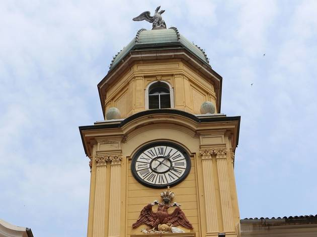 The return of Rijeka's two-headed eagle