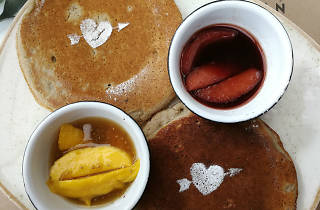 Sweet pancakes en Tea Connection