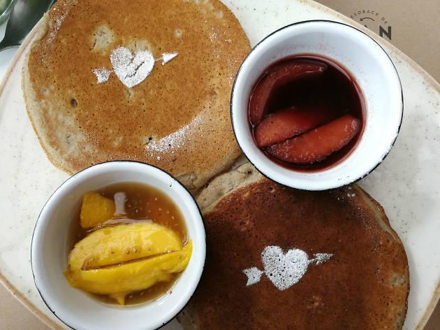 Sweet pancakes en Tea Connection