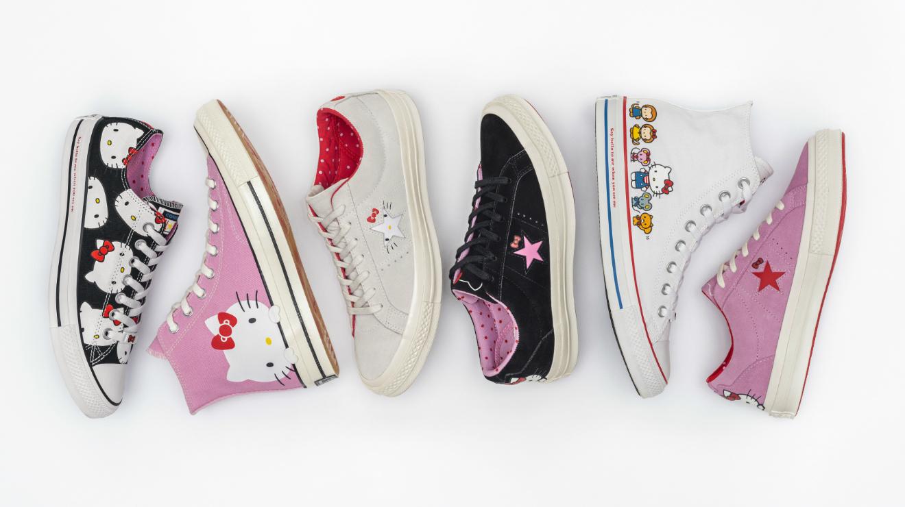 Converse x Hello Kitty, la colección de sneakers de tus sueños