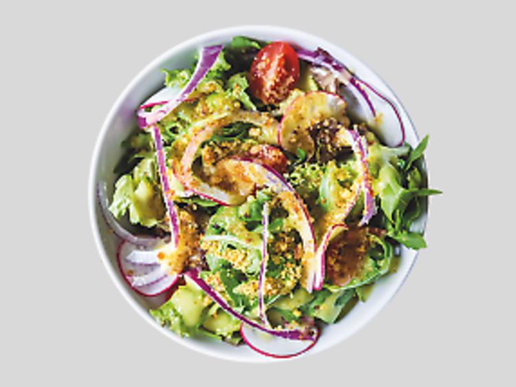 Salada mista do Ground Burger