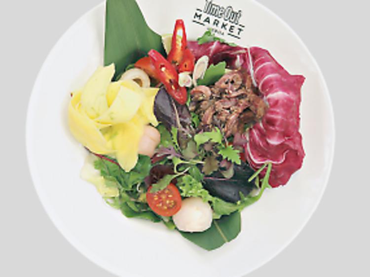 Beef Salad do Asian Lab
