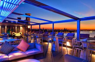 Skyline Rooftop Bar is one of the best bars in Venice, Italy.