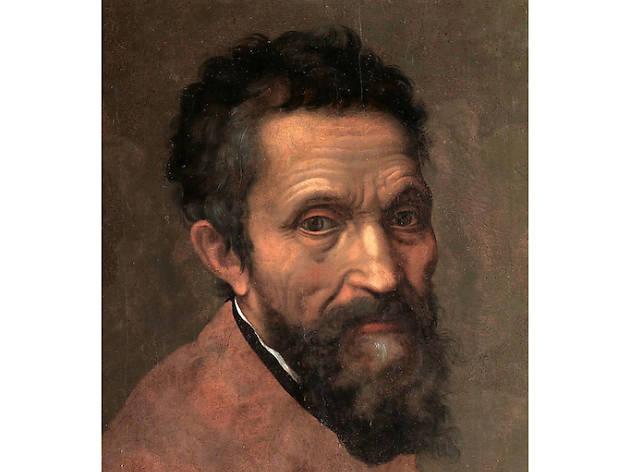 Daniele da Volterra, Portrait of Michelangelo, ca. 1544