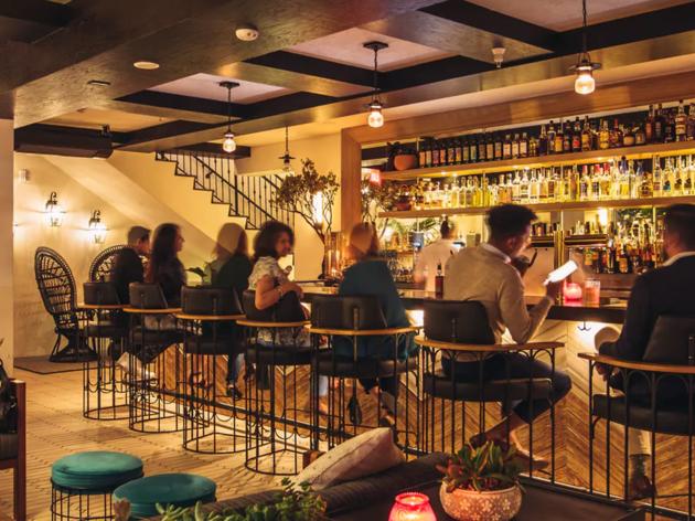 Rick's bar at Hotel Figueroa