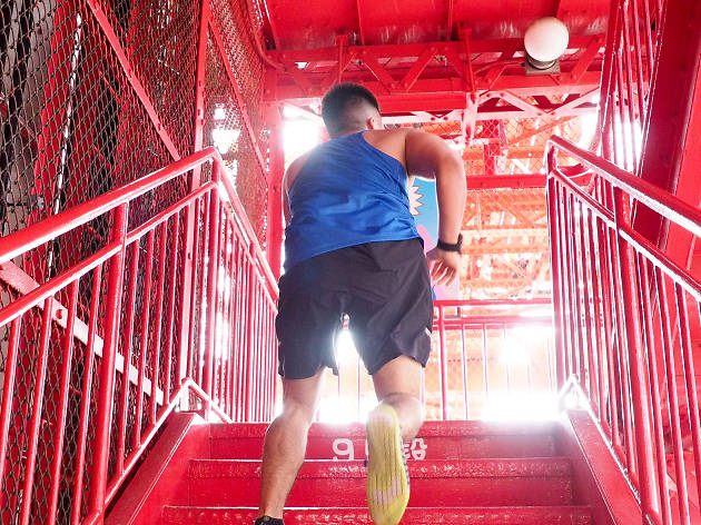 TELL東京タワー階段レース