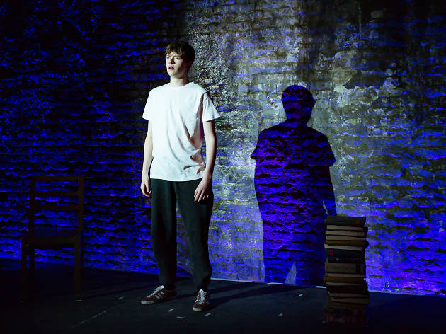 Josh Barrow in 'Silk Road' at Trafalgar Studios