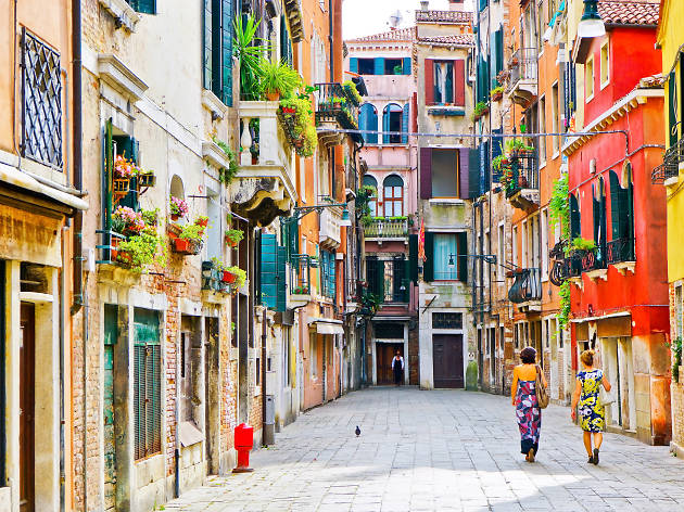 Wander the streets during your 48 hours in Venice, Italy.