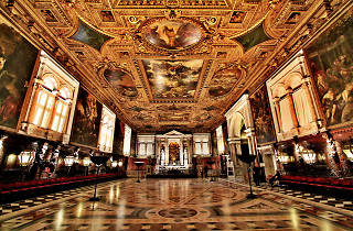 Scuola Grande di San Rocco, one of the best museums in Venice, Italy