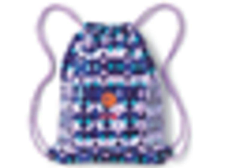 Ages 3–5: Print Packable cinch sack