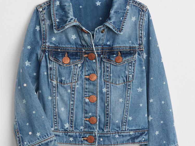Ages 3–5: Jean jacket