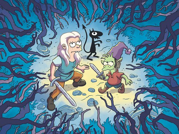 (Des)encanto la nueva serie de Matt Groening y Josh Weinstein