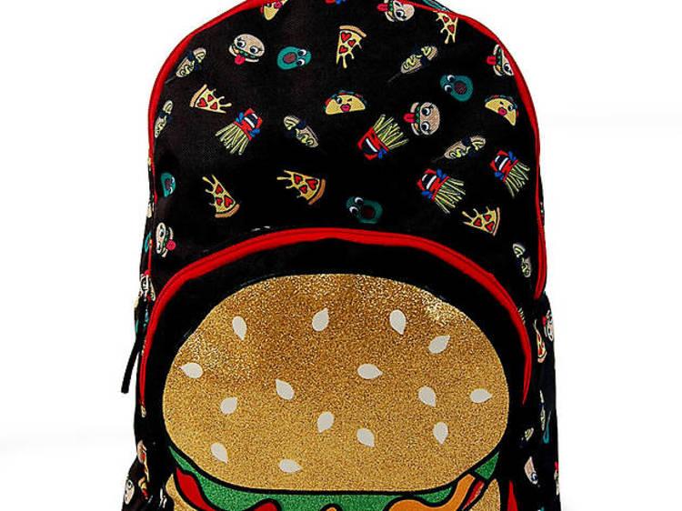 Ages 6–8: Burger Backpack