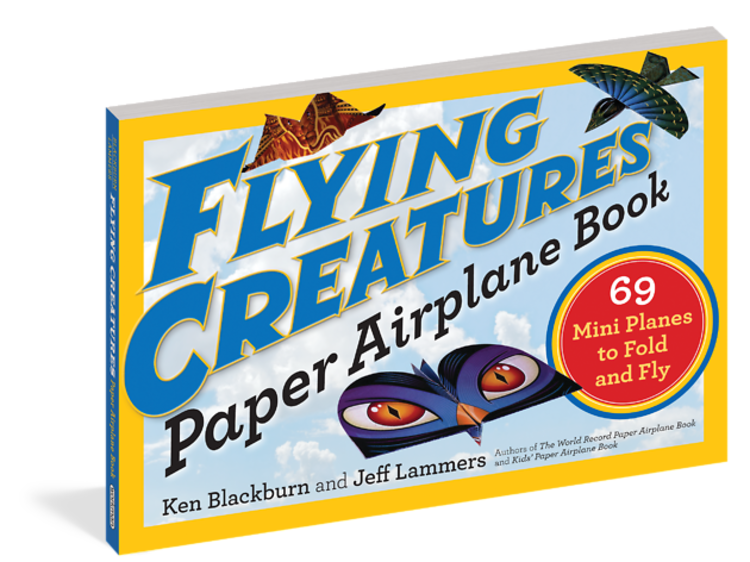 Ages 6–8: Flying Creatures Paper Airplane Book