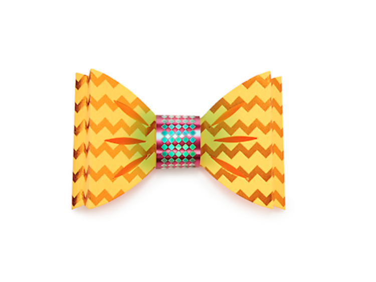 Ages 9–11: Light-up bow tie