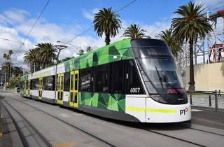 New 96 tram Melbourne