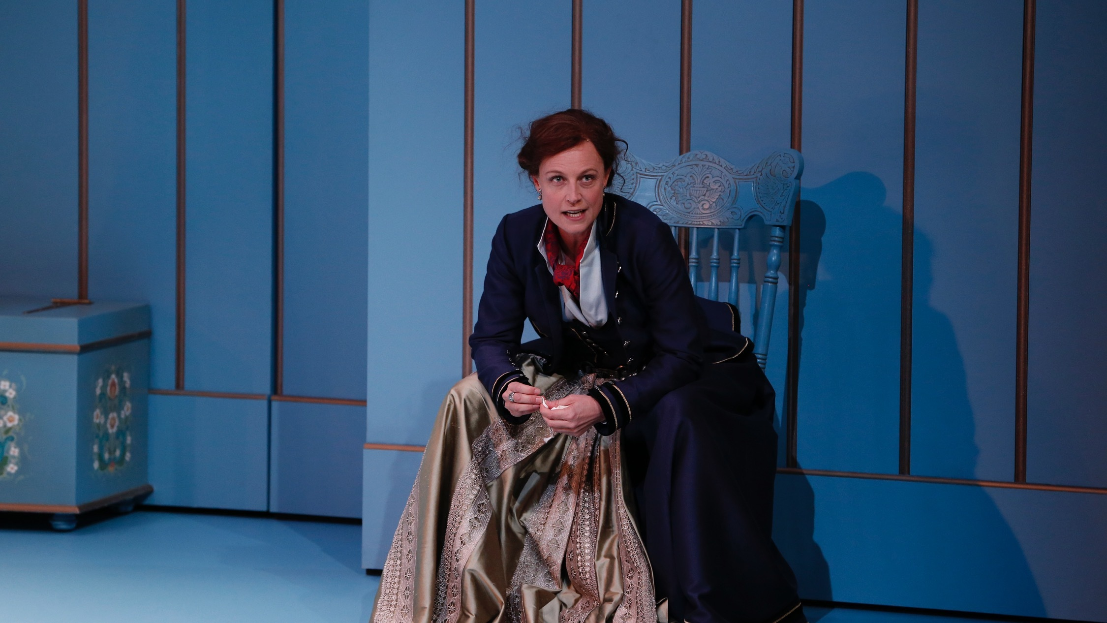 On stage production shot at A Doll's House Part 2