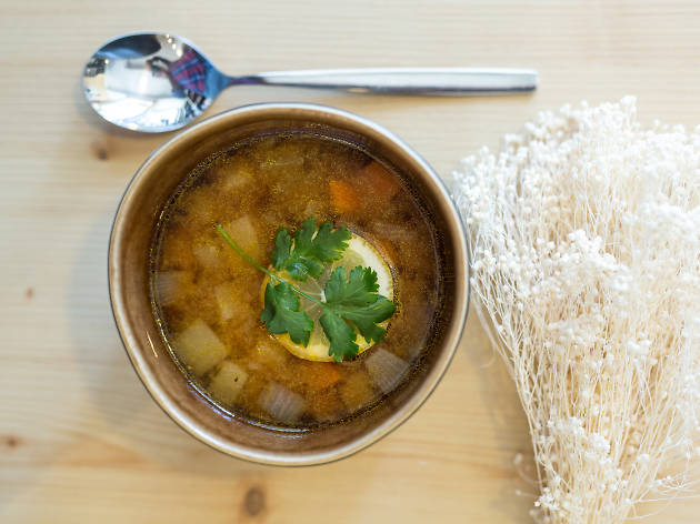Sopa de Miso O Macrobiótico