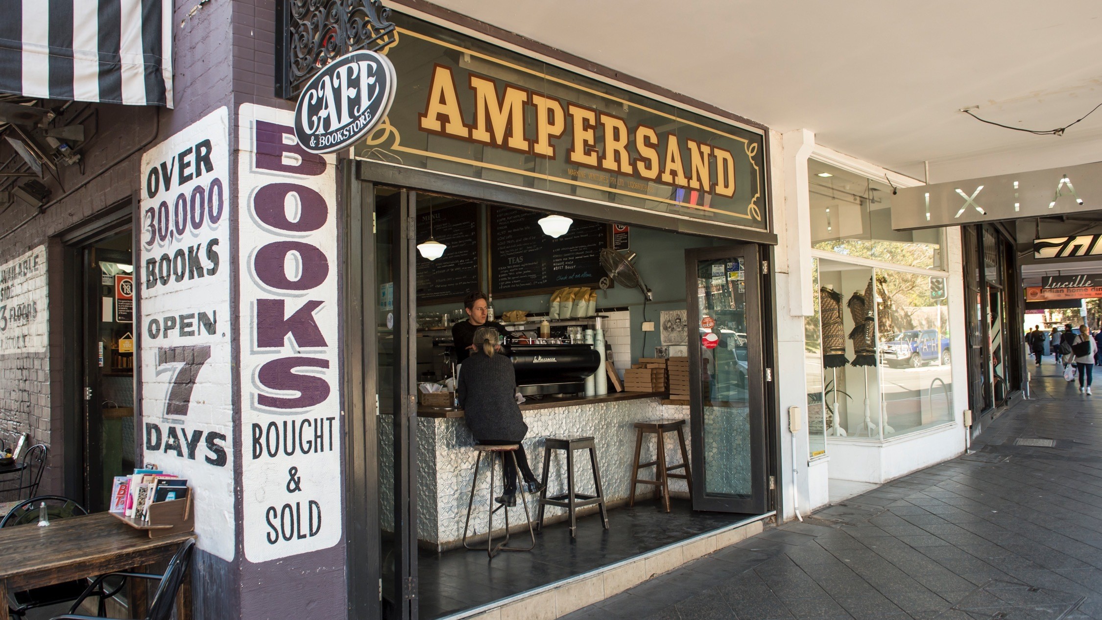 Ampersand Cafe Bookstore