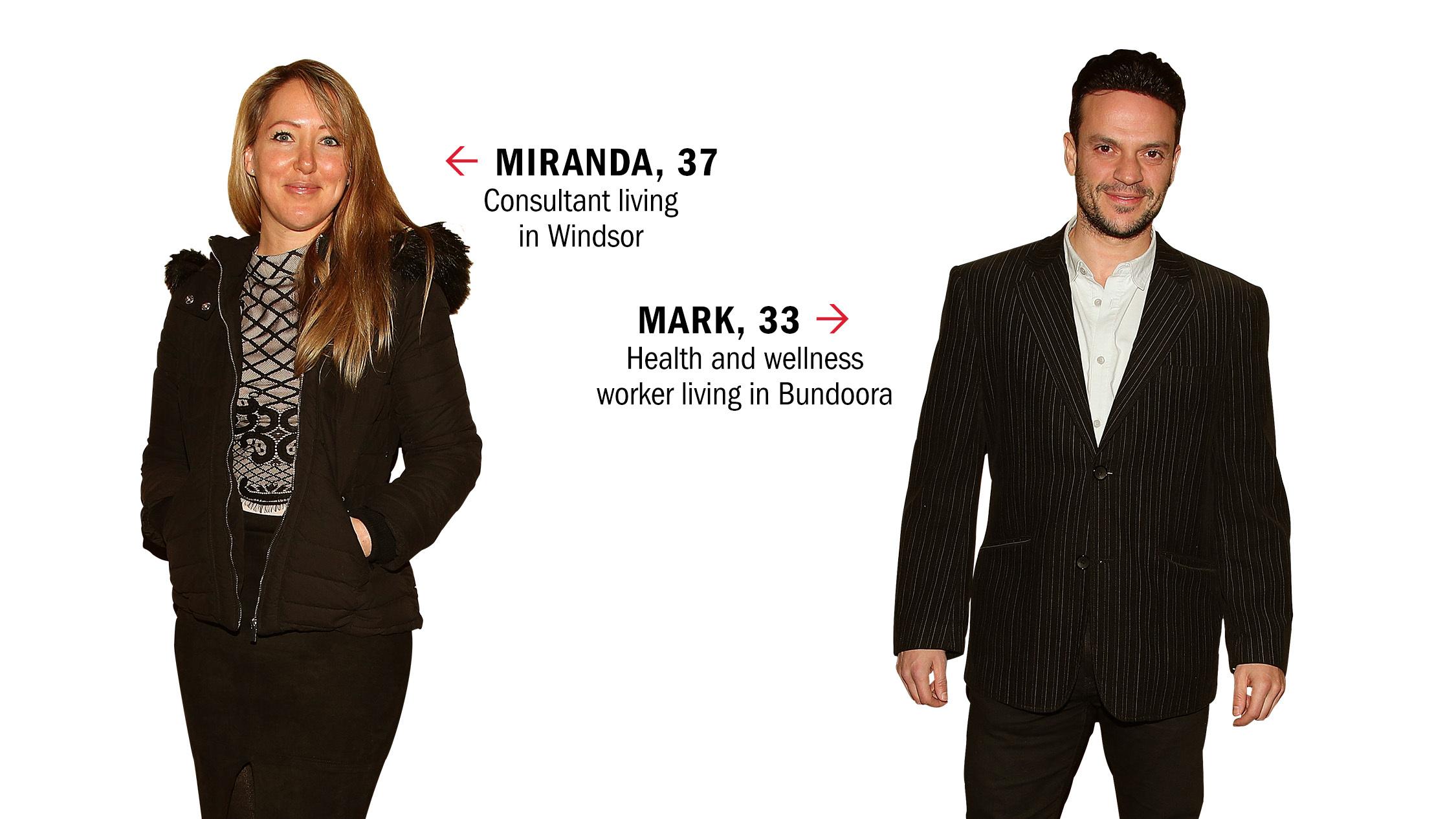 Dating IRL: Miranda and Mark