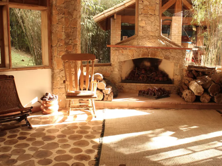 A farmhouse in Mairinque