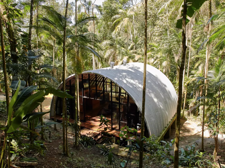 A designer house in Paraty Atlantic Forest