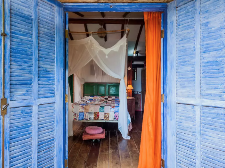A bohemian guest house in Ilhabela